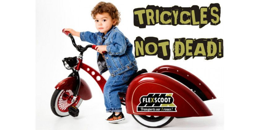 TRICYCLE IS NOT DEAD !